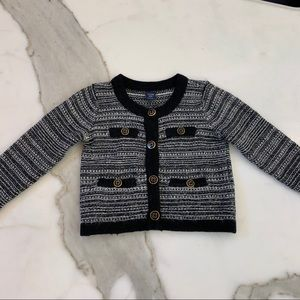 Button down cardigan by BabyGap size 2T